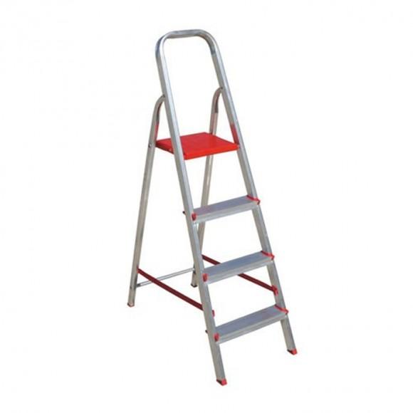 Escada Alumínio Suprema - 4 Degraus - Botafogo