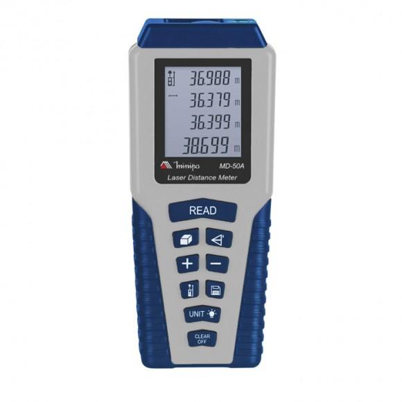 Medidor de distância a laser Minipa - MD50A