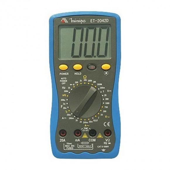 Multímetro digital Minipa ET-2042D