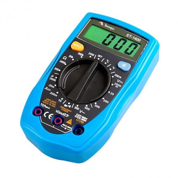 Multímetro digital portátil Minipa-2
