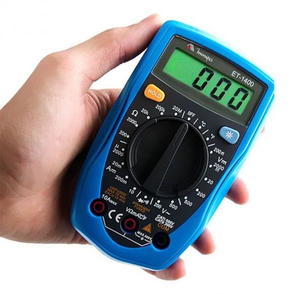 Multímetro digital portátil Minipa-4