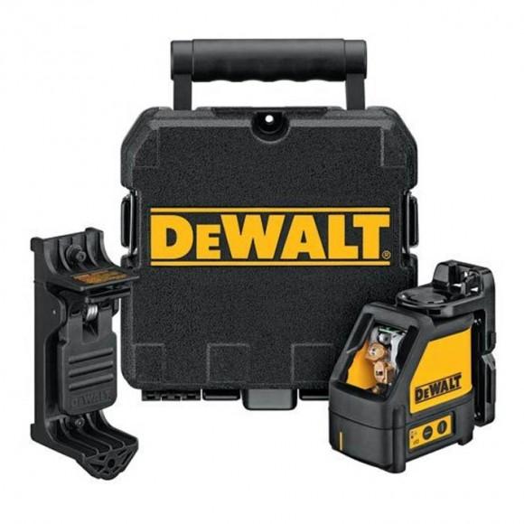 Nível a laser automático com alcance de 15 metros - Dewalt DW088K-1